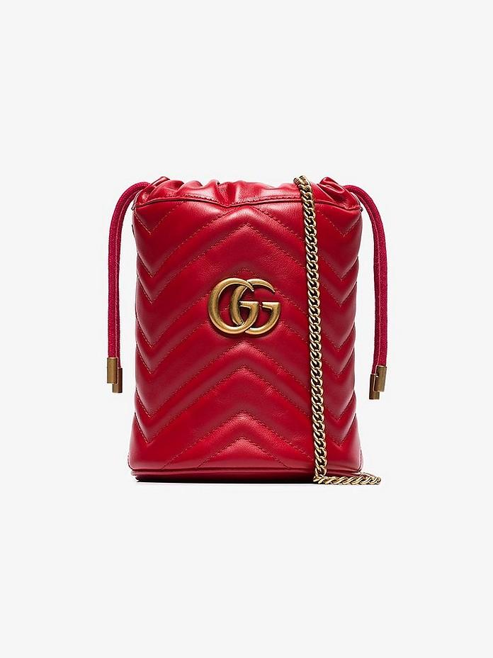 Gucci Accessories GG Marmont mini bucket bag