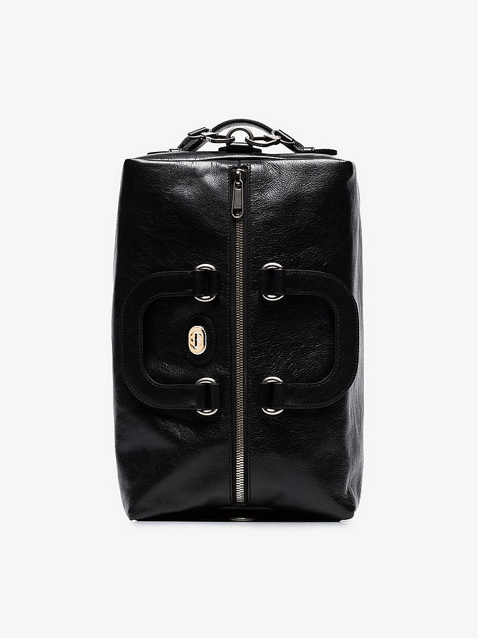 Black morpheus leather backpack - Gucci