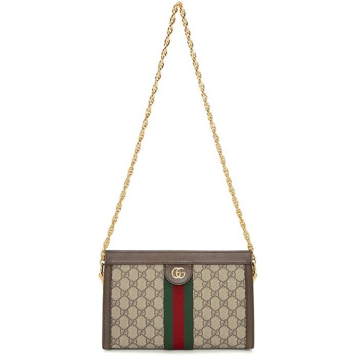 Beige GG Supreme Ophidia Bag - Gucci