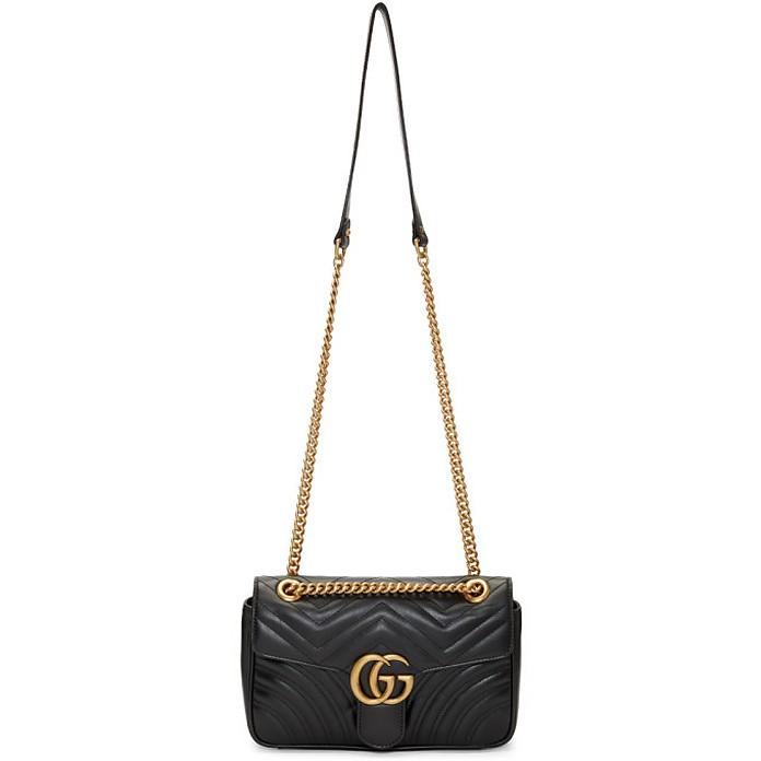 Black Small Marmont 2.0 Bag - Gucci
