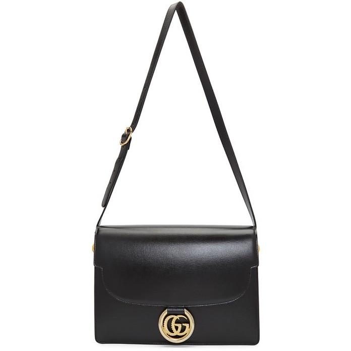Black GG Ring Bag - Gucci