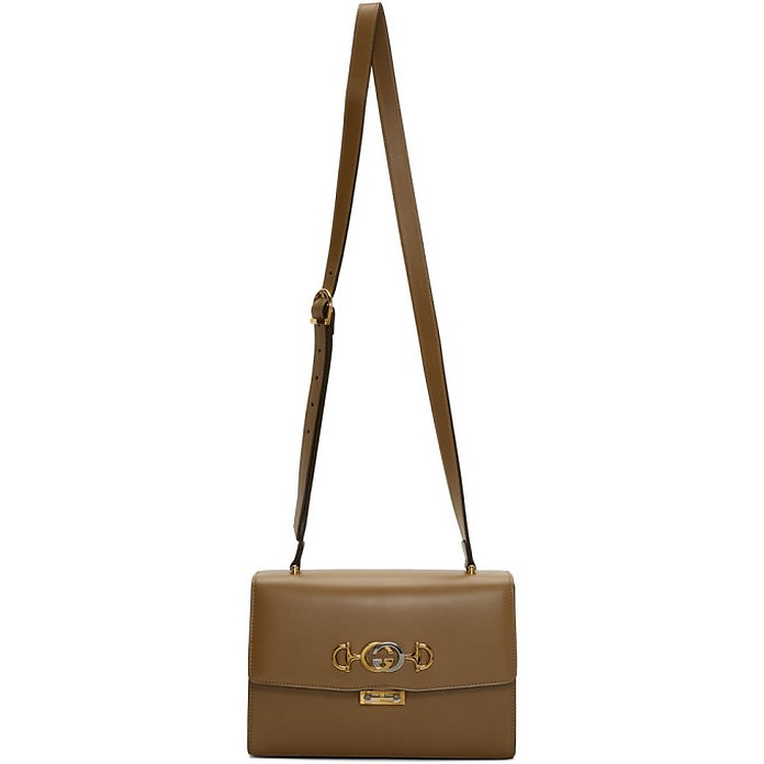 Brown Zumi Shoulder Bag - Gucci