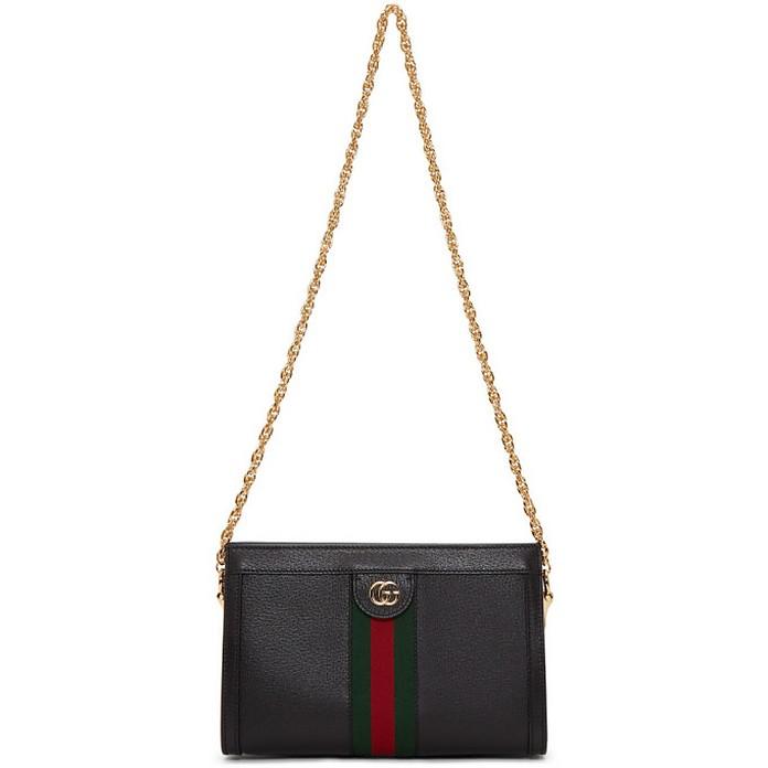 Black Small Ophidia Shoulder Bag - Gucci