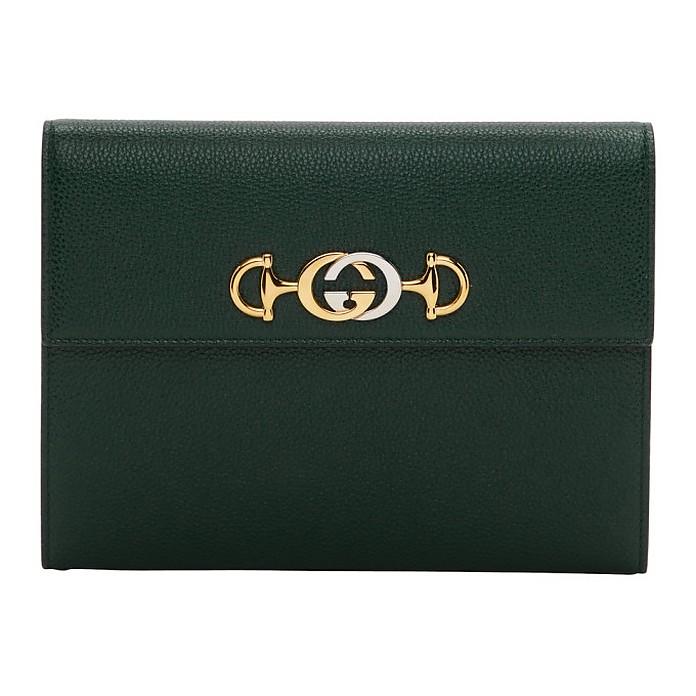 Green Zumi Pouch - Gucci