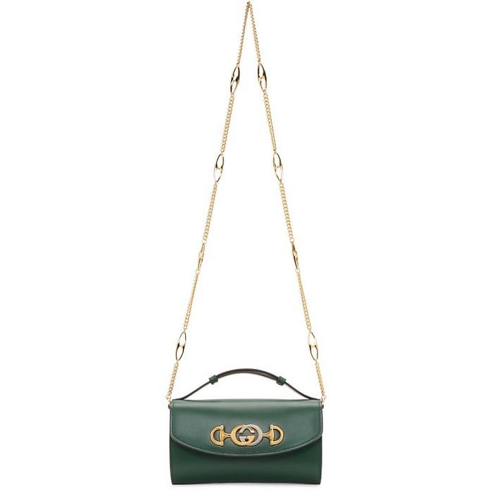 Green Mini Zumi Bag - Gucci