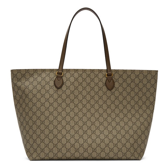 Beige GG Ophidia Tote - Gucci / グッチ