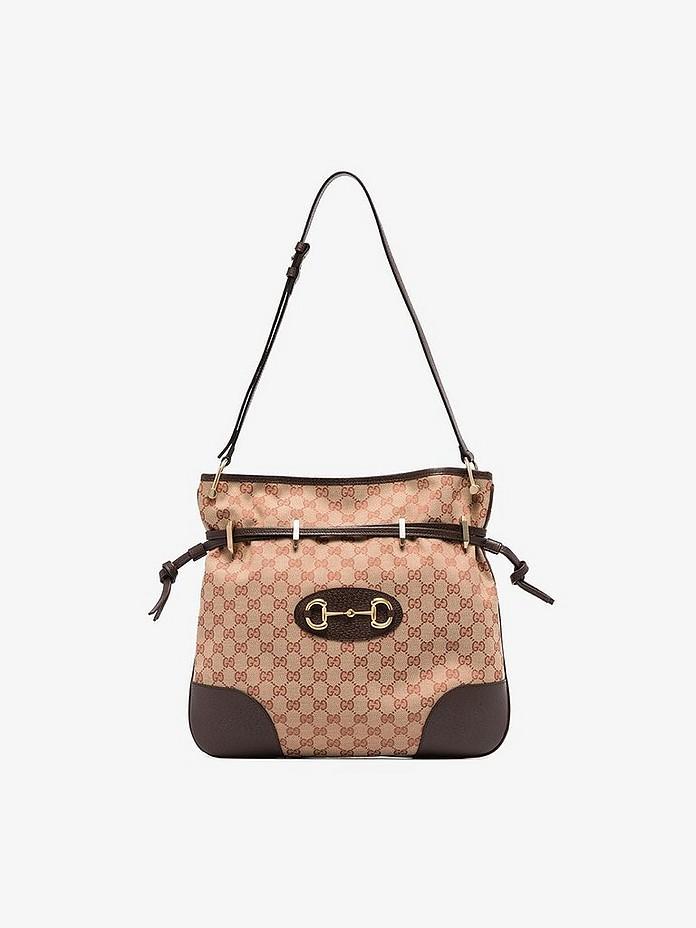 Beige Morsetto GG Supreme canvas tote bag - Gucci