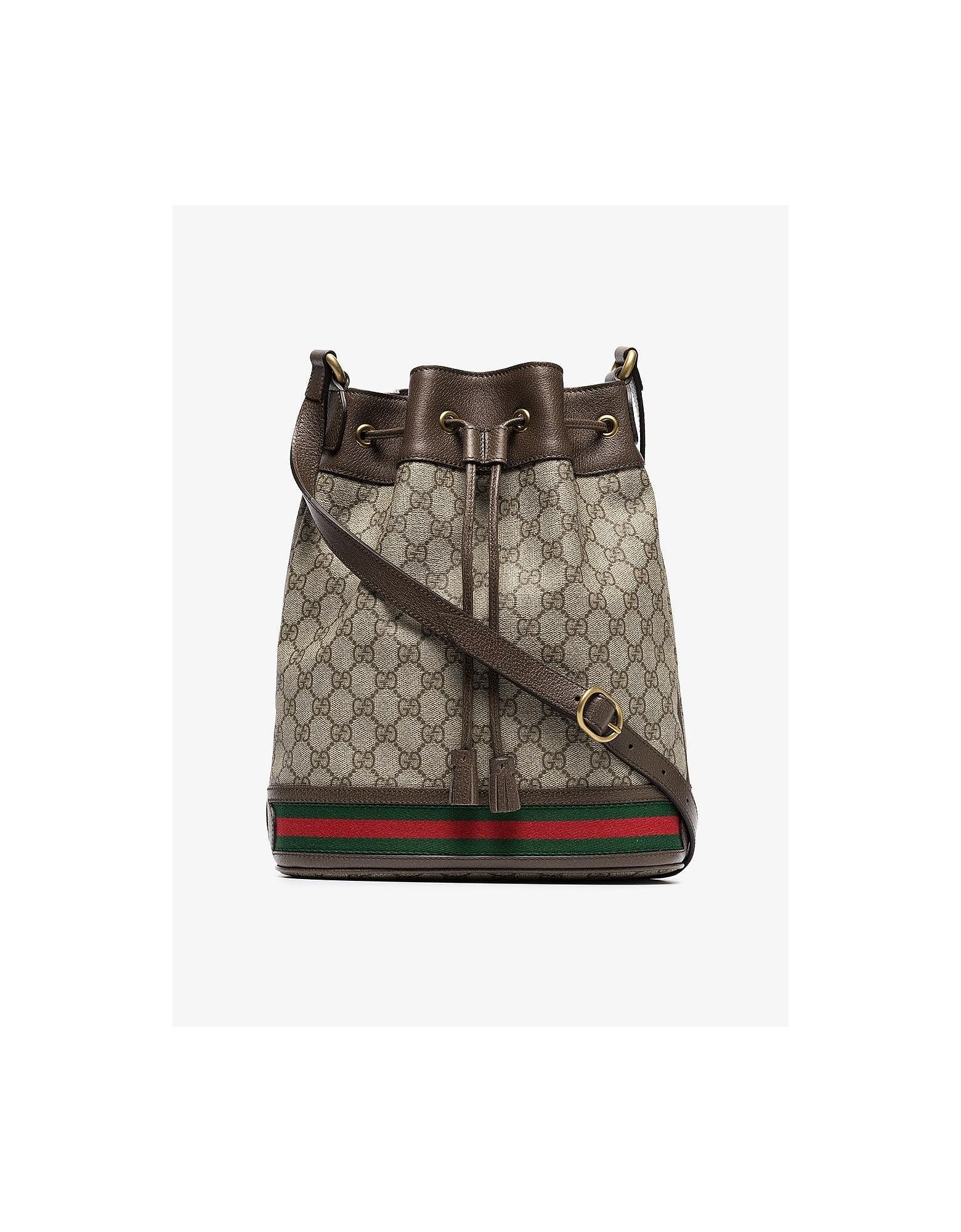Gucci Bags GG LOGO BUCKET BAG