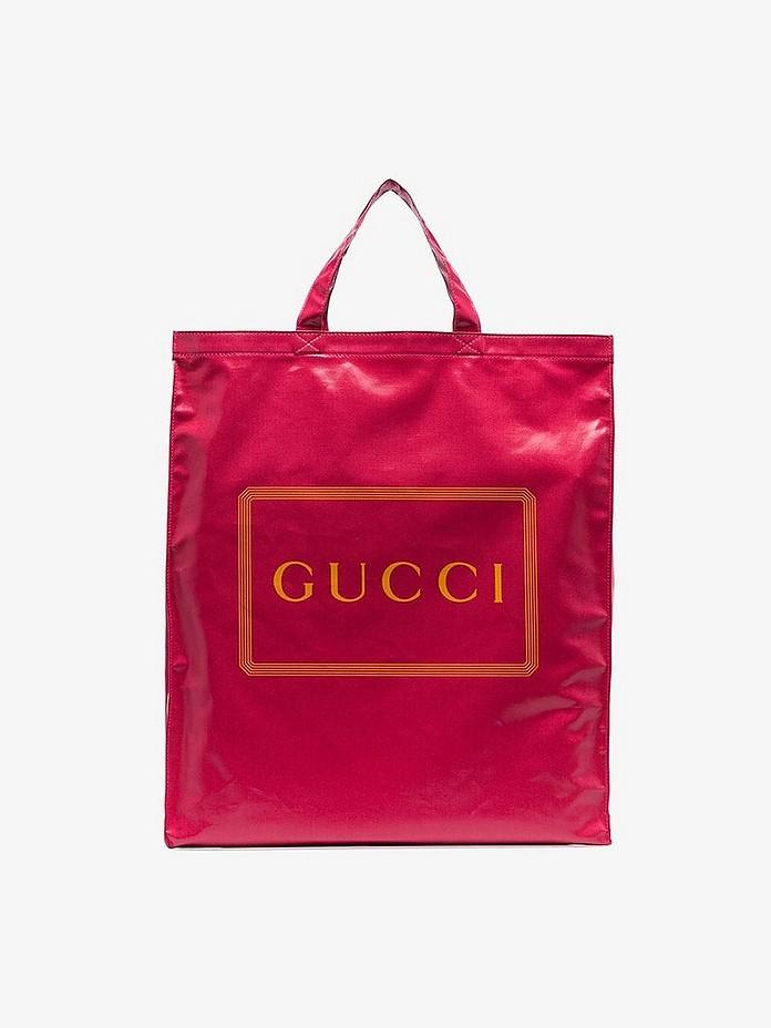Gucci Accessories Pink logo Granny shopper bag