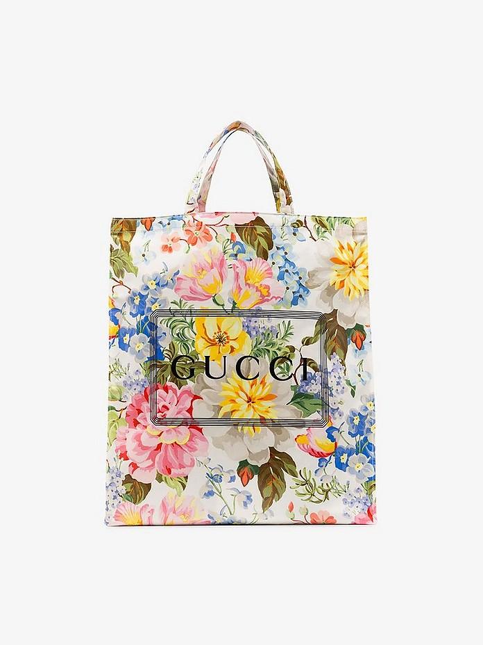 Gucci Accessories GCCI FLORAL GRANNY SHOPPER