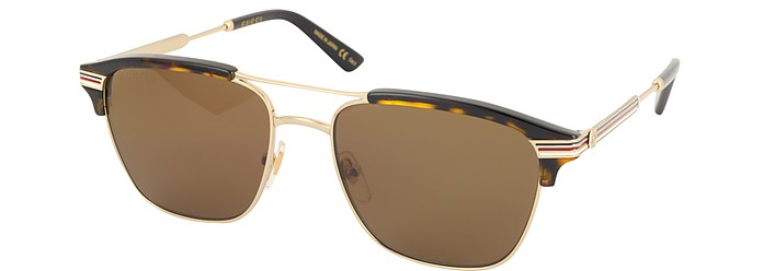 9e586f838d1 GG0241S 002 Square-frame Metal Sunglasses - Gucci. £318.00 Actual  transaction amount