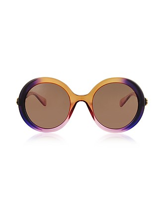 c1edf71046463 GG0367S Round-frame Acetate Sunglasses - Gucci