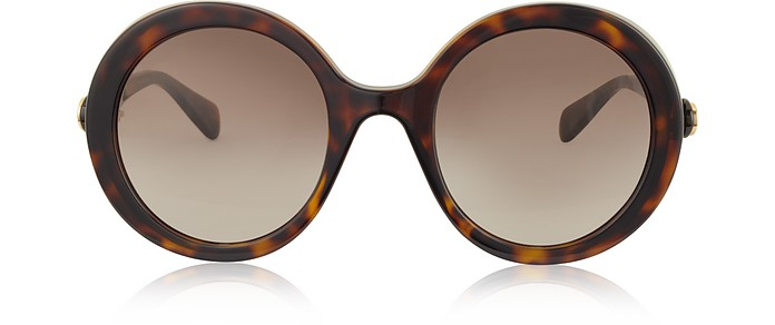 GG0367S Round-frame Acetate Sunglasses - Gucci