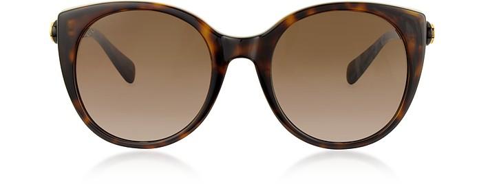 Cat-Eye Acetate Sunglasses - Gucci