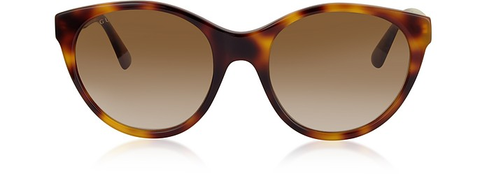 GG0419S Cat-Eye Acetate Frame Sunglasses - Gucci
