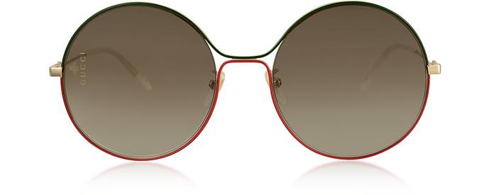 Aviator Metal Sunglasses - Gucci