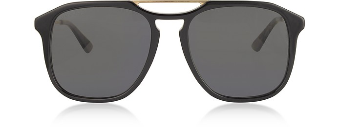 Square-frame Acetate Sunglasses  - Gucci / グッチ
