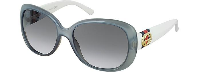 17b6be217d3d9 ... Oversize Contrast Women s Sunglasses - Gucci.  325.00 Actual  transaction amount