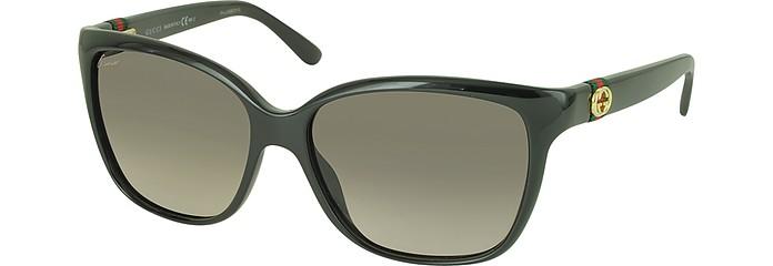 87d36d0ff98 GG 3645 S Shiny Cat-eye Women s Sunglasses - Gucci.  325.00 Actual  transaction amount