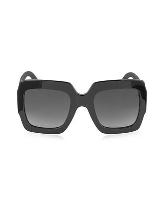 904cd558f20 GG0053S Optyl Square Women s Sunglasses w Glitter Temples - Gucci