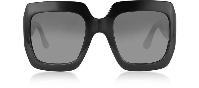 GG0053S 001 Black Acetate Square Women's Sunglasses - Gucci