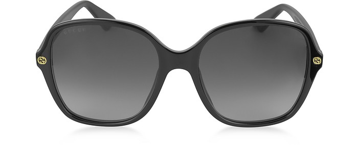 GG0092S Acetate Square Women's Sunglasses - Gucci