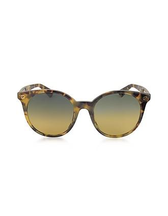7ef20518bd GG0091S Acetate Round Women s Sunglasses - Gucci