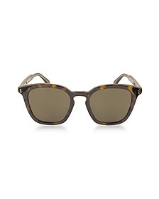 GG0125S Acetate Square Men's Sunglasses - Gucci