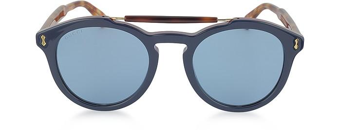 19274907e8 Gucci Azul / Azul Degradado GG0124S Gafas de Sol para Hombres de ...