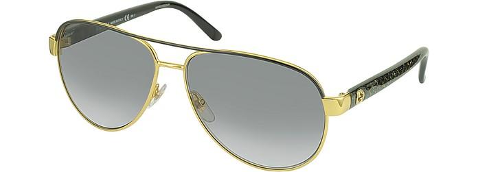 d351bb581c GG 4239 S DYOEU Golden Metal Frame - Gucci.  350.00 Actual transaction  amount