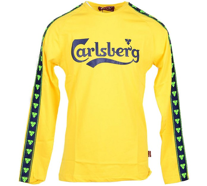 Sun Yellow Signature Men's Long Sleeve T-Shirt - Carlsberg