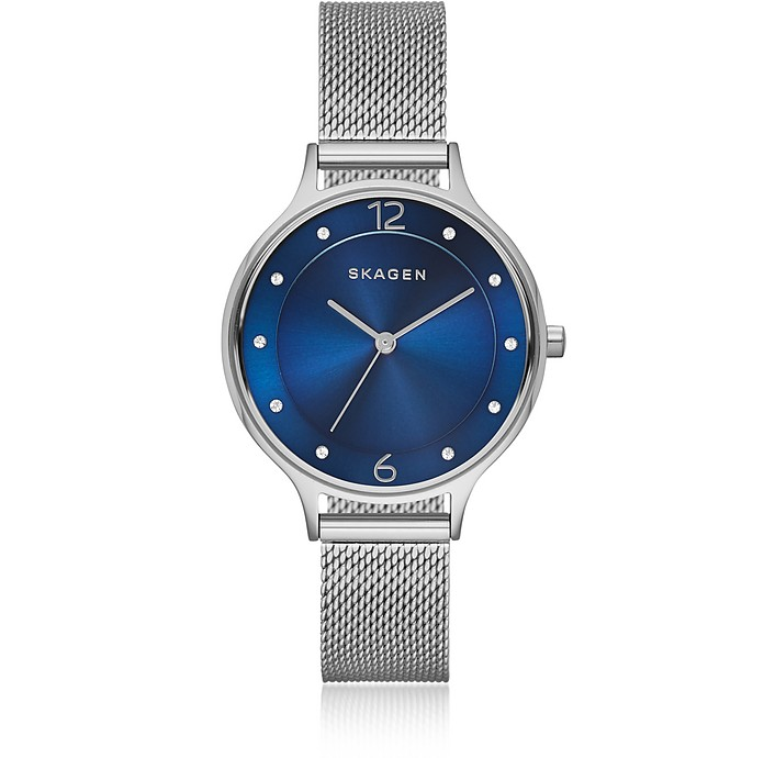 Anita Steel-Mesh Women's Watch - Skagen