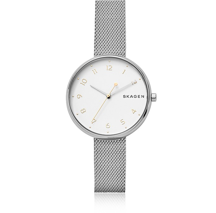 Signatur Steel-Mesh Women's Watch - Skagen