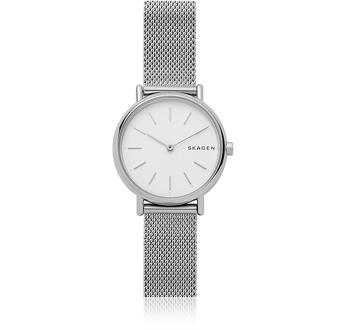 Signatur Slim Steel-Mesh Watch - Skagen