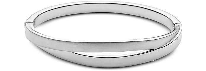 Elin Silver Tone Bangle Bracelet - Skagen