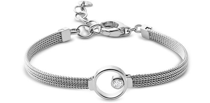 Elin Silver Tone Crystal Women's Bracelet - Skagen