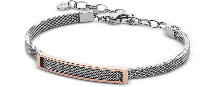 Merete Two-Tone Mesh Women's Bracelet - Skagen