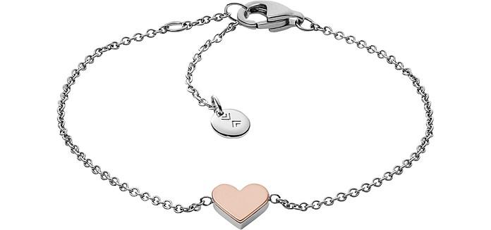 Katrine Heart Pendant Women's Bracelet - Skagen