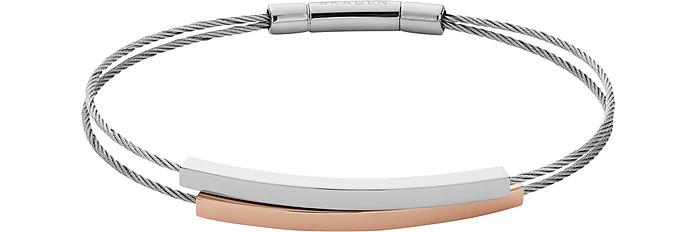 Elin Two Tone Cable Bracelet - Skagen