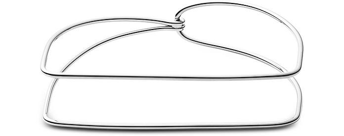 Elin Silver Tone Geometric Bracelet - Skagen