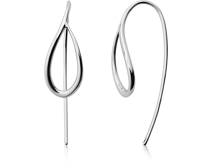 Kariana Silver-Tone Earrings - Skagen