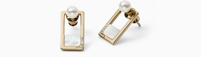 Agnethe Stainless Steel Women's Earrings - Skagen