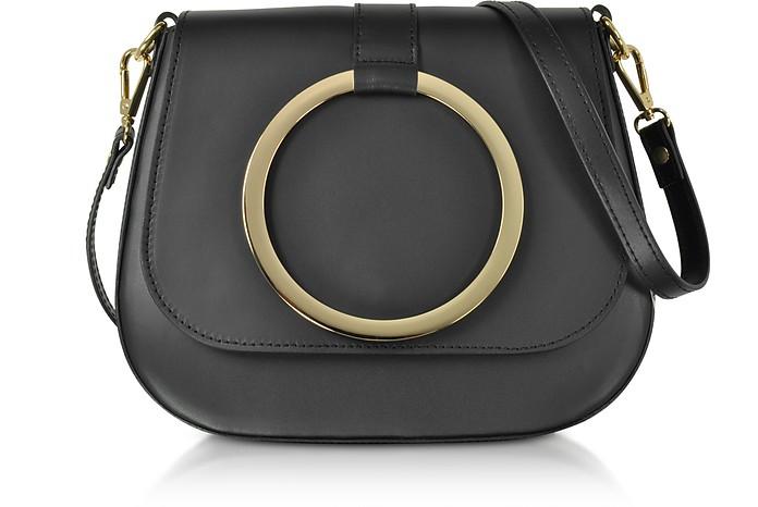 Smooth Leather Shoulder Bag - Gisèle 39