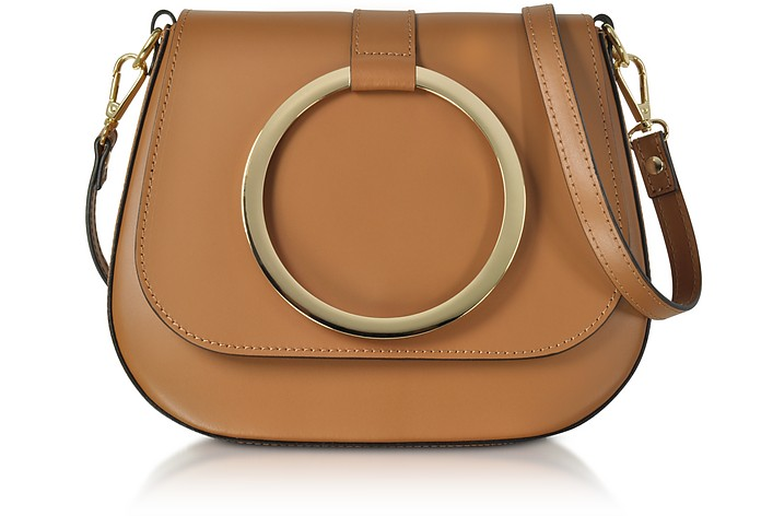 Smooth Leather Shoulder Bag - Gisèle 39