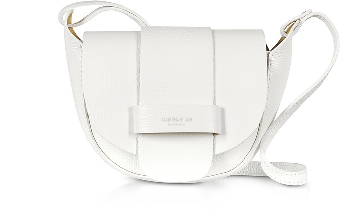 Carlotta Grainy Soft Leather Shoulder Bag - Gisèle 39