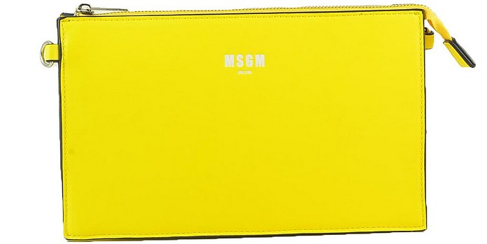 Women's Yellow Handbag - MSGM