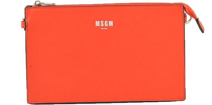 Women's Orange Handbag - MSGM