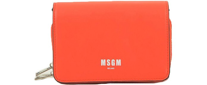 Women's Orange Handbag - MSGM