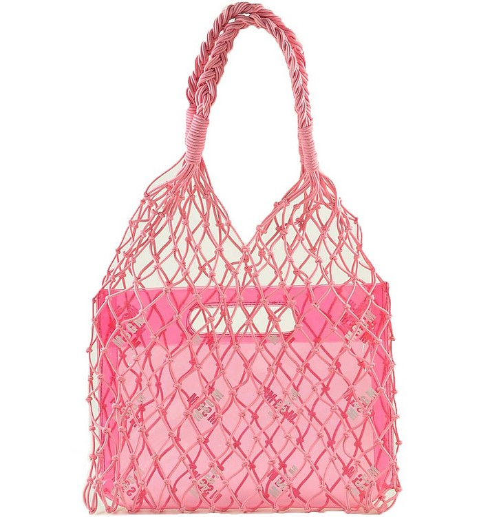 Pink Net Tote Bag - MSGM