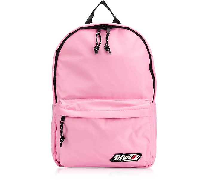 MSGM Signature Nylon Backpack - MSGM